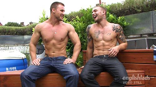 Straight boys wanking