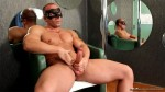 Maskurbate–Muscular Jason Jerks Off His Big Rod & Shows Off His Manly Body