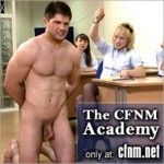 CFNM – Randy Sports Teacher Caught Naked In Hallway By Horde Of Horny Women