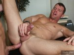 Men Hard At Work – Two Buddies Help Each Other Out While Studying
