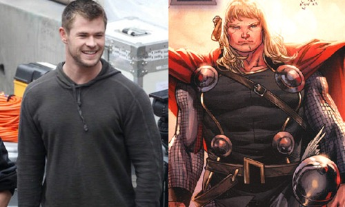 thor hemsworth looks