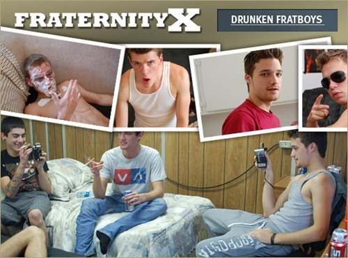 Drunken Fratboys in Wild Orgies
