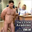 CFNM – Girls Show Off Their Milking Service Techniques On Young Lee