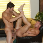 College Dudes – Buddy Gives Logan A Good Pounding