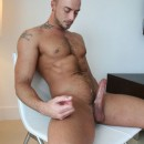 ManAvenue – Manly Naked Jessie Colter Shows Off His Huge Cock