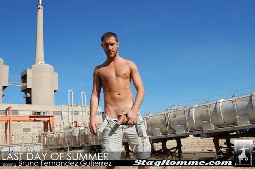 Staghomme - Last Day Of Summer With Bruno Fernandez Gutierrez - Rough Straight Men-5193
