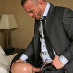 Manhandled – Strong Studs Morgan & Dominic Flip-Flop Fucking