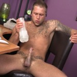 Chaosmen – Young Muscled Stud Carter Jacobs Busts A Nut