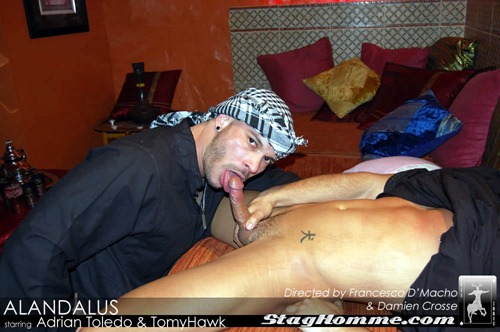 Staghomme - Extremely Hot Studs Fucking In Andalusia -7451