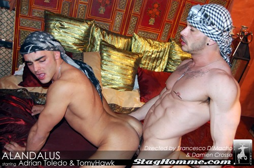 Staghomme - Extremely Hot Studs Fucking In Andalusia -9906