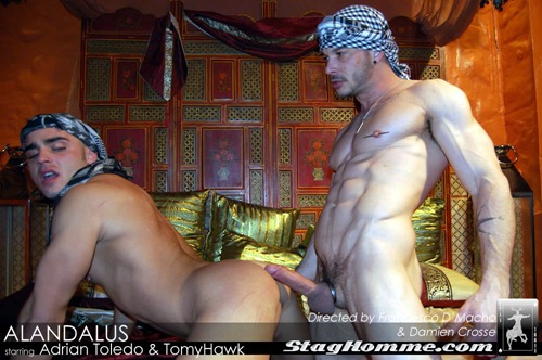 Staghomme - Extremely Hot Studs Fucking In Andalusia -7039