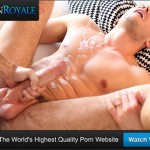 ManRoyale – Manly Hunk Calvin Fucks Eager Dude In The Pool