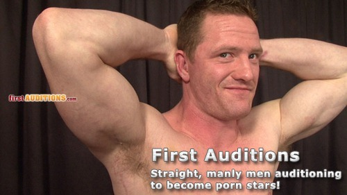 Straight Manly Men Auditioning to Become Porn Stars