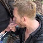 SUCKOffGUYS – Huge Facial Cumshot After Hot Blowjob on a Mountain