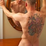 Active Duty – Handsome Muscled Recruit Tucker Wields His Big Dick