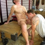 NYSM – Hairy Muscled Architect Logan Serviced