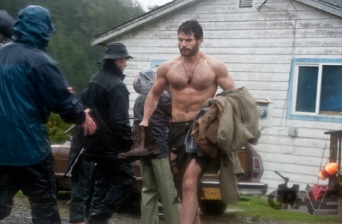 Superman Set Pics Beard_2