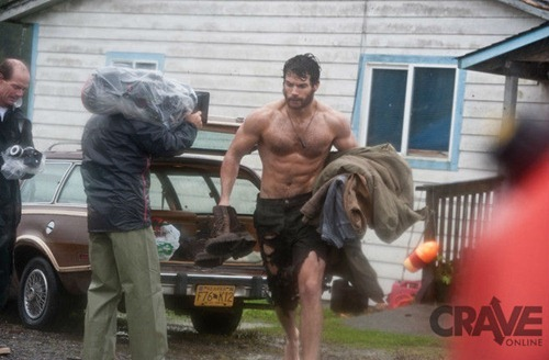 Superman Set Pics Beard_3