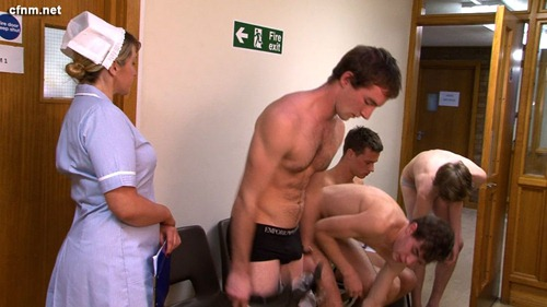 exam physical naked male Cfnm