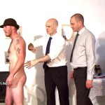 Hairy Heterosexual Fred Inspected and Forced Into Submission
