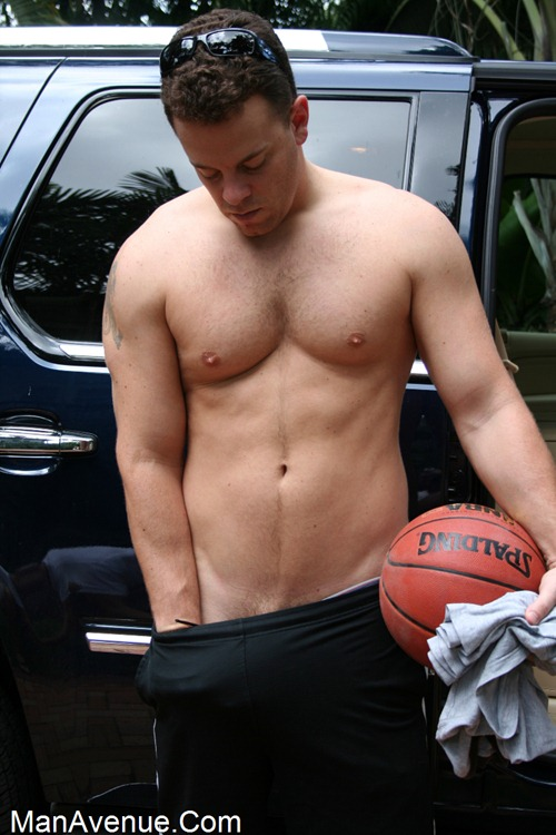 Men nude basketball