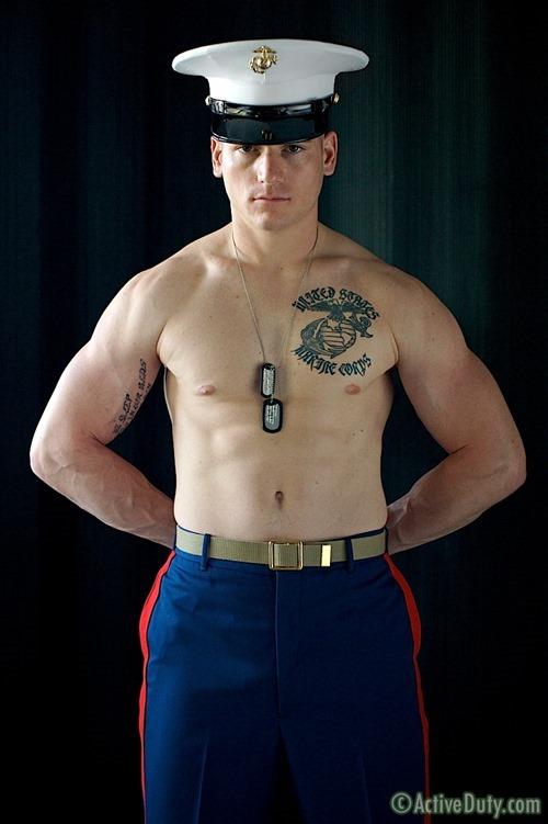 Extra Hot Military Dude Dorian - Rough Straight Men-2748