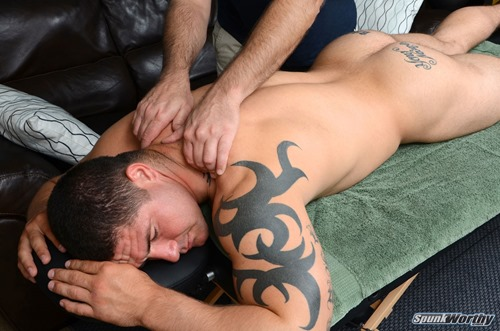 Gay Straight Oil Massage Blowjob