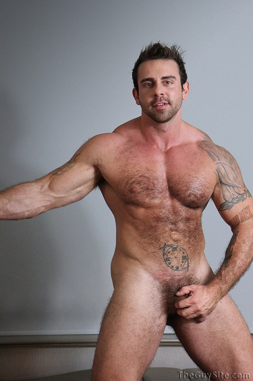 Hairy bodybuilder xavier naked can defined?
