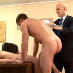 Two Young Straight Schoolboys Being Initiated Into Man-to-Man Love