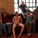 Pervy Men Watching Hot Straight Businessman Mike While He's Jerking Off