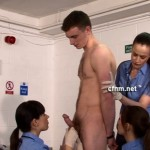 Feisty Hot Traveller Michael Is At The Mercy Of Stern Female Customs Officers