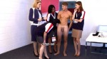 Hot Athletic Diver John Thoroughly Inspected By Demanding Confident Women