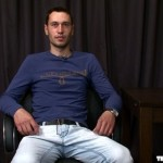 Hairy Straight Dude Stefon Jacks Off At Audition