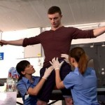 Hot Young Lad Michael Detained & Inspected By Female Customs Officers