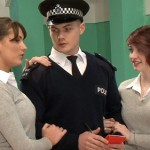 CFNM – Irresistibly Hot & Manly Policeman Tony Inspected By Horny Schoolgirls