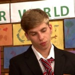 CFNM – Arrogant Son Barry Inspected At School's Parent Evening