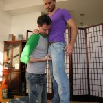 Hairy Aaron Gets Full Service From New Cocksucker Mark