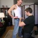 NYSM – Hot Repairman Tim Sprays Cocksucker's Face With His Spunk