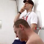 Brutal Tops – Cruel Masters Nick & Lucas Humiliate Martin in Public Toilet