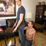 New York Straight Men – Big-Dicked Straight Mark Thoroughly Serviced