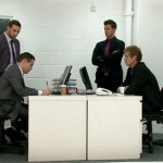 Cruel Clothed Security Officers Teach An Office Boy Some Respect