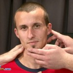 Masculine, Lean Footballer Wayne Thoroughly Examined