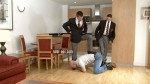 Sleazy Painpig Gets Cruel Treatment From Two Dominant Handsome Masters