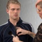 CFNM–Young Footballer Donovan Poses For a Photoshoot Before Demanding Women
