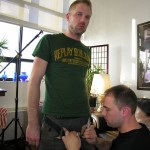 Tall, Handsome, Hairy & Hung Swede Freddy Gets Serviced