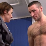 Pervy Raunchy Female Hotel Staff Inspect Hairy Stud Terry