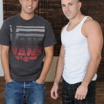 Straight Fraternity – Nikko Gives Carter His First Gay Blowjob