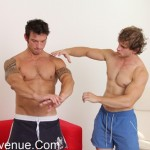 ManAvenue – Personal Trainer John Seduces His Hot Student Duayne