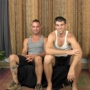 Two Hot Straight Guys Aiden & Teddy Stroke Their Dicks Together