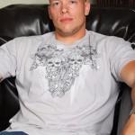 Big, Beefy 20-Year Old Dude Jacks Off